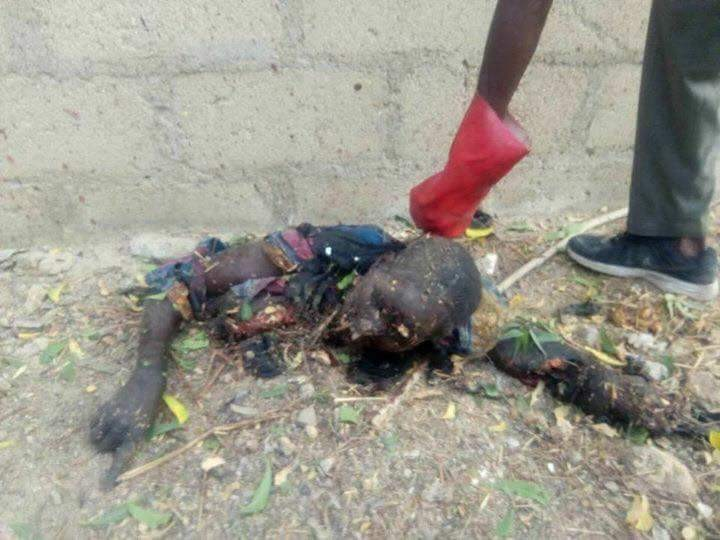 Graphic: Boko Haram bombs mosque in Bama, kills five