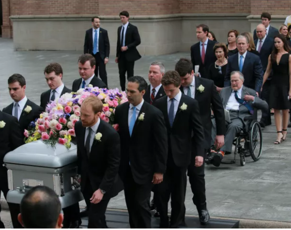 Photos from the funeral of former US first lady,?Barbara Bush?