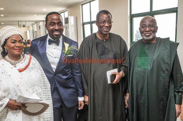 Photos: Osinbajo, Dangote, Bola Shagaya, Otedola, Ita-Giwa, Omotola Jalade-Ekeinde, Erelu Abiola Dosunmu, others at Donald Duke
