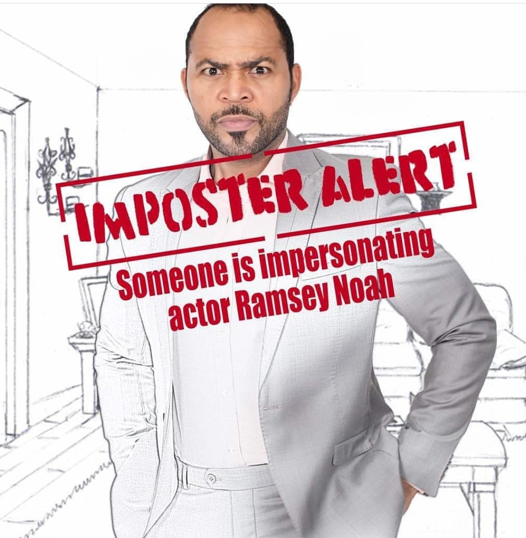 Ramsey Noah Reports Imposter