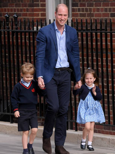 First photos of Kate Middleton and Prince William