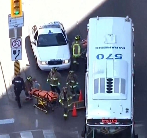 Five people?dead and several others injured after rental van plows into pedestrians in Toronto?