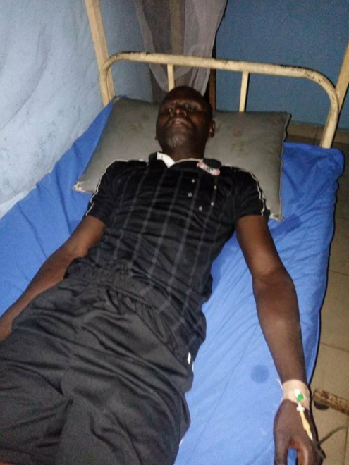 Referee beaten unconscious by fans after a football match in Owerri (photos)
