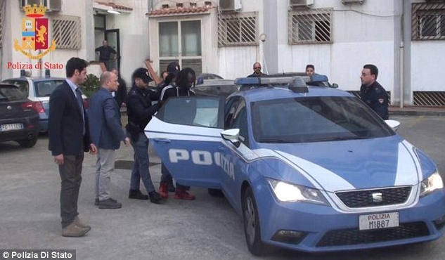 British woman escapes through window after being held as a sex slave by Africans in Italy