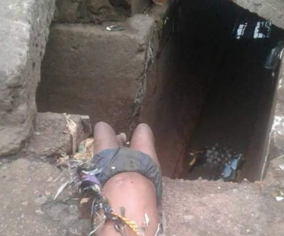 child Found Dead Along The Road After Heavy Rainfall In Onitsha Reportedly Met Her Untimely Death