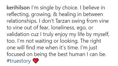 Singer Keri Hilson explains why she