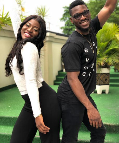 #BBNaija: Cute pics of Alex & Tobi ...