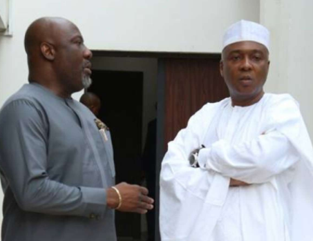 Video: Dino Melaye is in intensive care and stable for now though he has not eaten in the last 24-hours - Bukola Saraki?