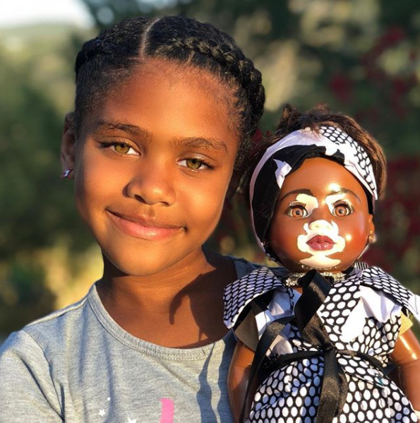 The Game gifts his daughter a Winnie Harlow doll and his reason is inspiring