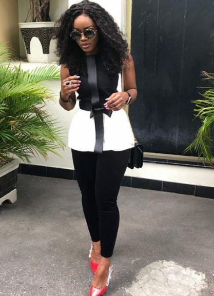 Between Bambam and Ceec, who rocked the monochrome look(photos)