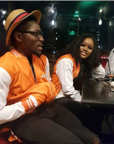Tobi and Cee-C pictured together all smiles?(Photos)