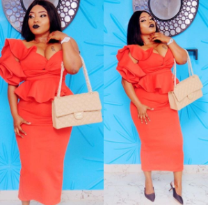 Halima Abubakar puts her boobs on display in new photo