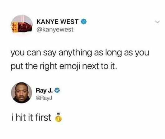 Ray J shades his ex Kim Kardashian and Kanye West in brutal tweet