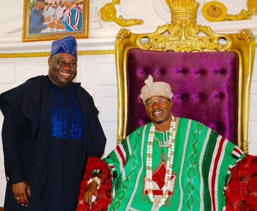 Photos: Dele Momodu?conferred with a special chieftaincy title of