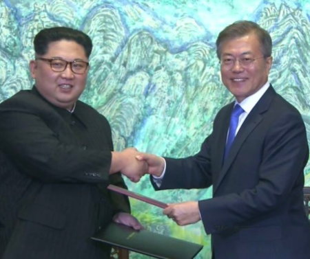 North and South Korea announce end of Korean war - Image ~ Naijabang