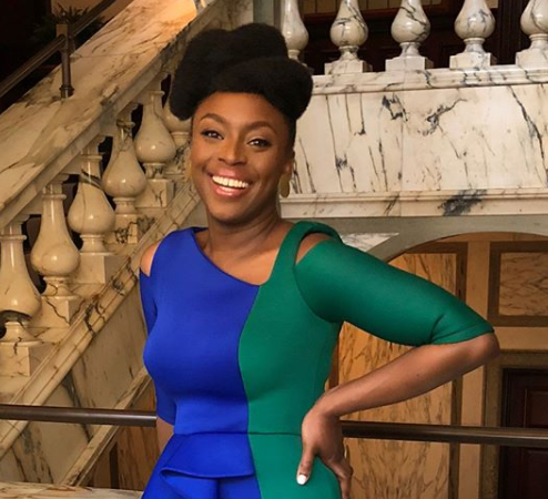 Lovely new photos of Chimamanda Ngozi Adichie
