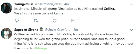 Nigerians react after Nina said she hasn