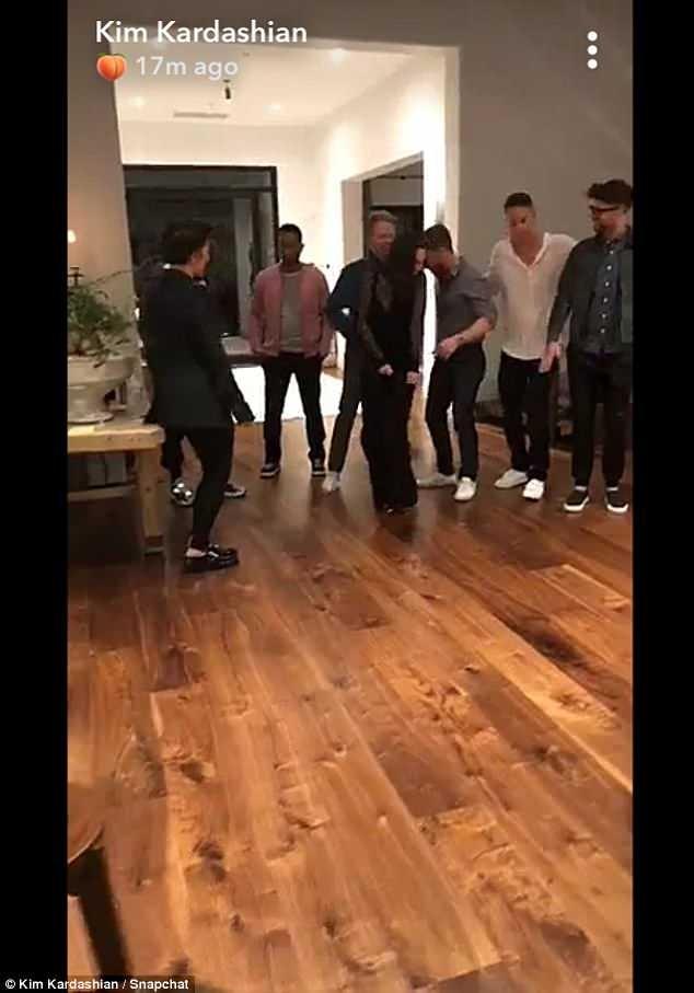 Kanye West and John Legend party at Chrissy Teigen