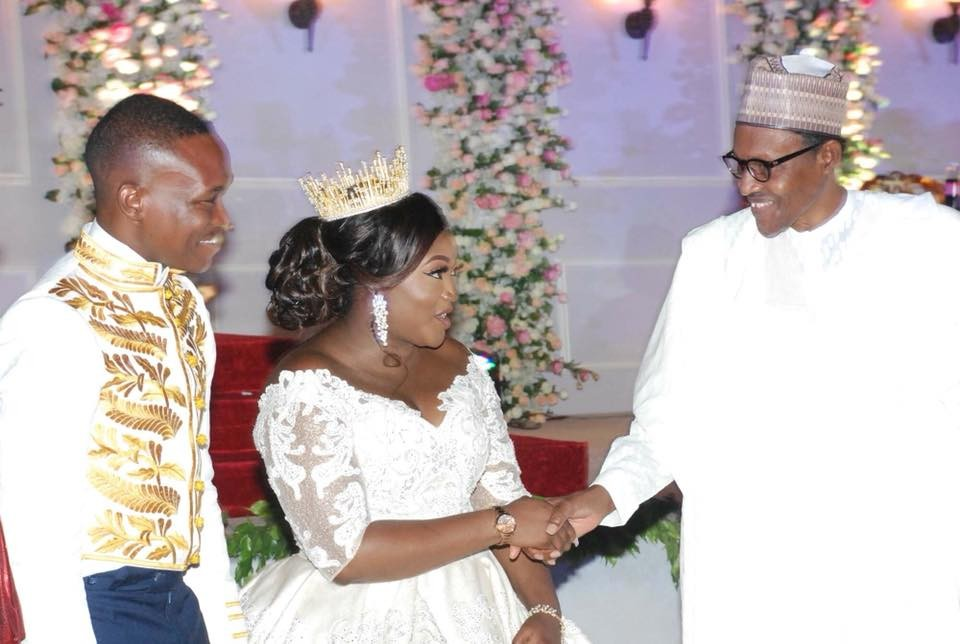 Photos: President Buhari, Tinubu, Saraki, others attend wedding reception of SGF Mustapha Boss