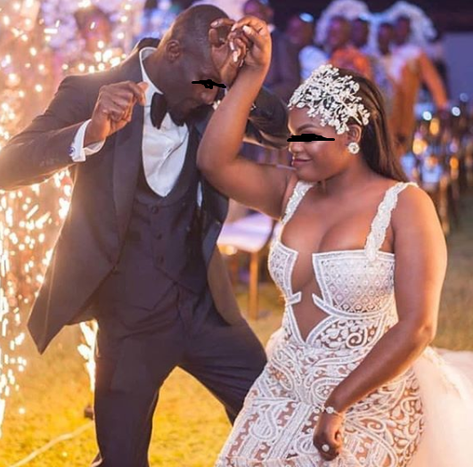 Ladies, would you rock this sexy outfit at your wedding? (photo)