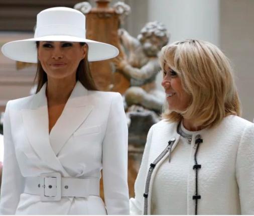 "Brigitte Macron says Melania Trump is like ""a prisoner in the White House"""