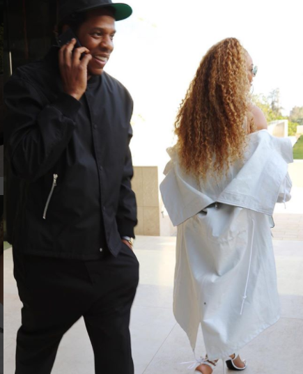 Image result for Beyonce slays in all white ensemble