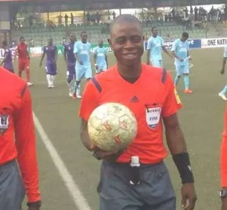 Nigerian referee, Joseph Ogabor banned for one year over?