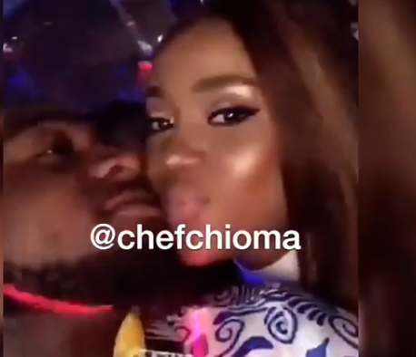 Videos: Some people are in love but are scared to say it, but me I no dey fear - Davido says as he shuts down Cubana night club for his boo, Chioma