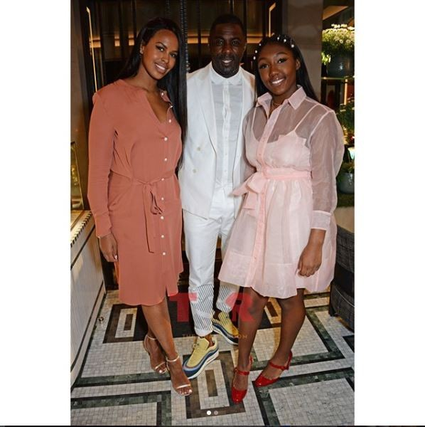 Beautiful family photo of Idris Elba, his fiancee and daughter?