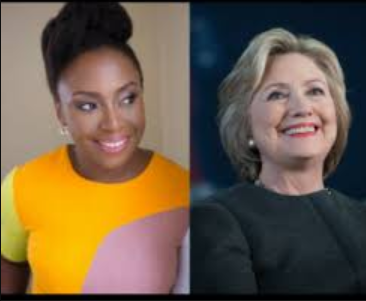 Hillary Clinton changes her Twitter bio after she promised Chimamanda Ngozi Adichie she would