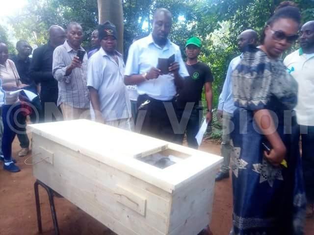 Beloved Chimpanzee laid to rest in casket at Uganda Wildlife Conservation Centre