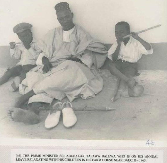 History! Nigeria's first Prime Minister, Tafawa Balewa 1963