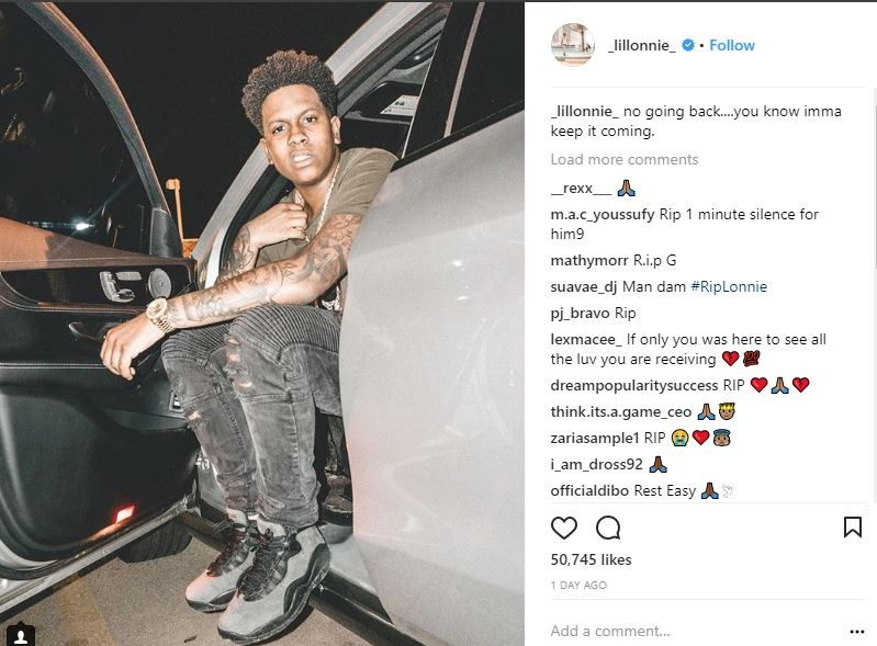 US rapper Lil Lonnie shot and killed in Mississippi?