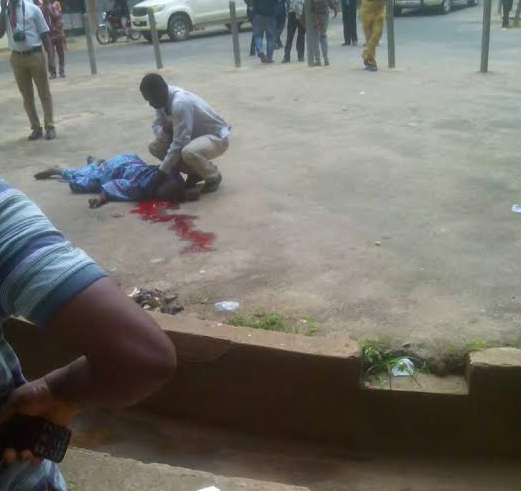 Man commits suicide by?jumping?from 5th floor of UCH, Ibadan (Photo)