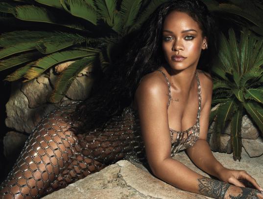 Rihanna stuns on the cover of Vogue magazine (photos)