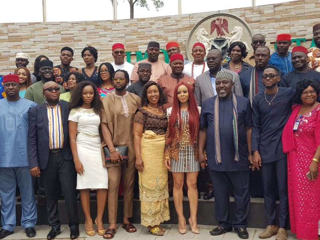 Governor Okorocha reportedly gifts Miracle  a plot of land + scholarship for his CPL,  gives Nina, Teddy A and Bam Bam N2m each
