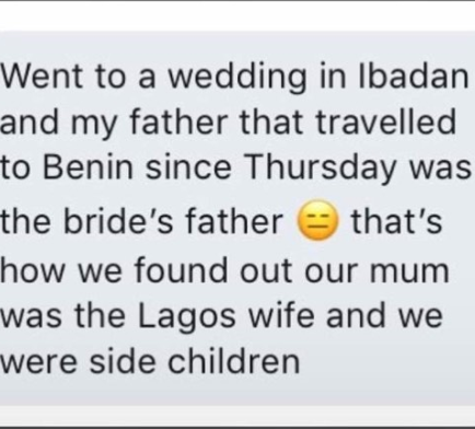 See how this person found out she and her siblings are side children