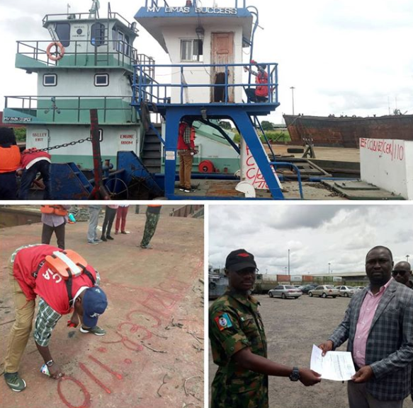 Oil theft: Nigerian Army hands over Tugboat and Barge to EFCC