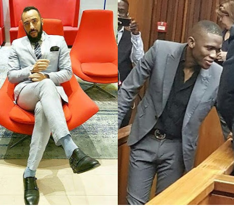 """Shameless fool!""- Mathew Mensah slams Sandile Mantsoe for smirking after his 32 years prison sentence was announced"