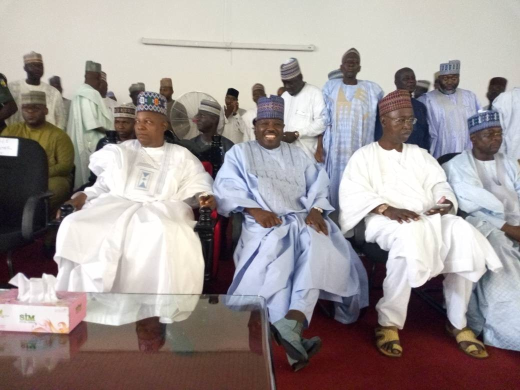 Former PDP Chairman, Ali Modu Sheriff formally defects to APC(photo)