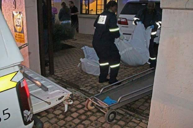 Brave South African father shoots dead two armed robbers who threatened to kill his baby