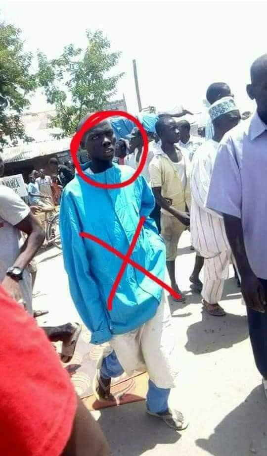 Mubi suicide bomber captured on camera moments before the blast that killed over 80 people