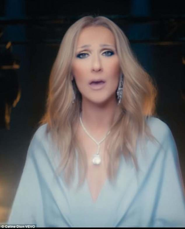 Check out the $25million worth of diamonds Celine Dion wore in new music video