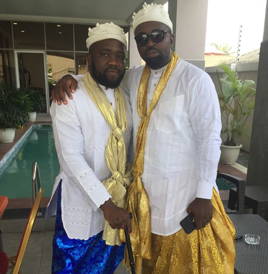 First photos from the traditional wedding of Donald Duke