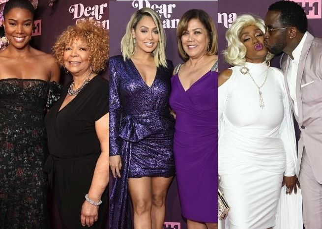 Gabrielle Union, La La Anthony, Diddy and Colin Kaepernick bring their beautiful mothers on the red carpet (Photos)