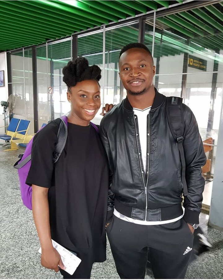 Comedian Funnybone says he understands feminism better after meeting and interacting with Chimamanda