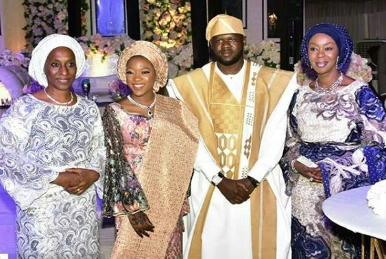 Photos from the wedding of billionaire businesswoman, Bola Shagaya