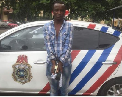Arrested traffic thief says,