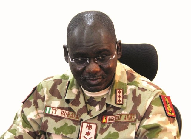 Chief of Army Staff, Tukur Buratai, gives tips on how to identify suicide bombers