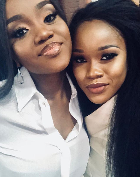 Any resemblance? ex BBNaija finalist,, Ceec pictured with Davido